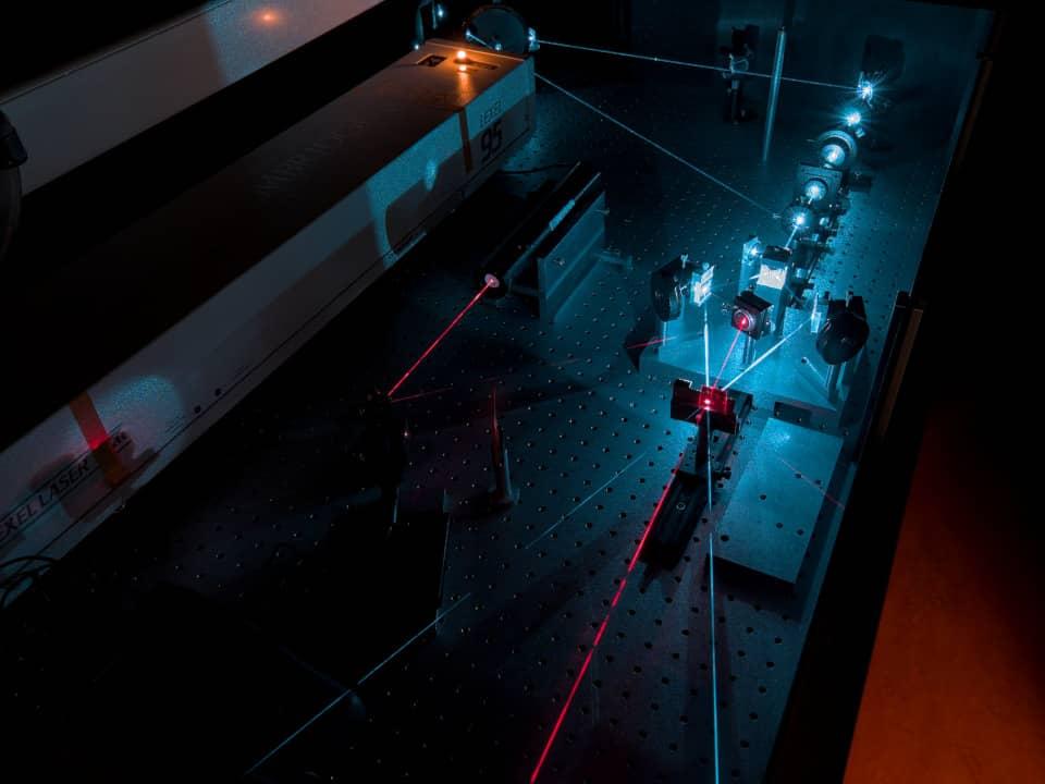 montage holographique